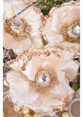 1 Rose diamant ivoire