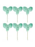 6 Petites Orchidées PERLE aqua