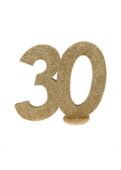 1 Chiffre anniversaire 30 or