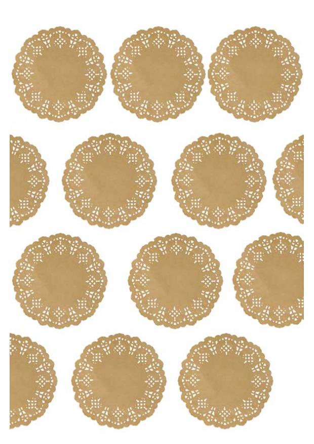 10 sous verre napperons papier dentelle kraft 10cm. Black Bedroom Furniture Sets. Home Design Ideas
