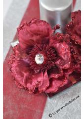 1 Rose diamant bordeaux