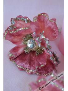 1 Rose de Nöel diamant rose