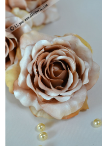 1 Rose SATINE caramel