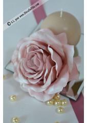 1 Rose SATINE vieux rose