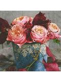20 Serviettes La vie en rose
