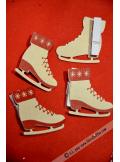 4 pinces patin à glace