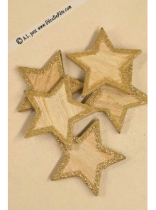 5 étoiles bois OR