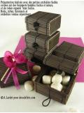 6 boites à secret chocolat