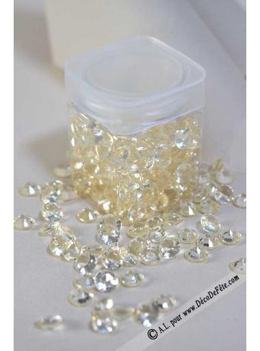 110G Pluie de diamants IVOIRE