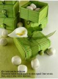 6 boites à secret vert