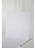 12 Etiquettes rondes blanc