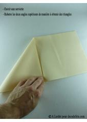 50 Serviettes jetables presto turquoise