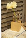 6 sac kraft à anse 10cm