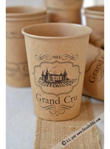 10 gobelets GRAND CRU