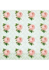 20 Serviettes Roses Liberty