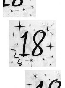 20 servittes anniversaire 18 ans