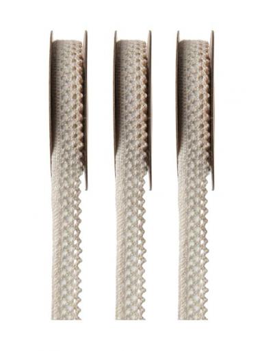 3M dentelle autocollante ivoire 10mm