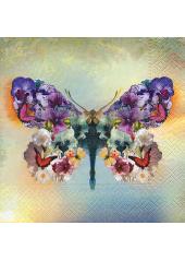 20 Serviettes le papillon fabuleux