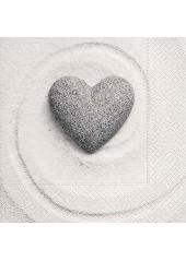 20 Serviettes imprimées Love