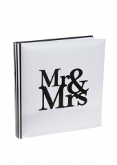 1 Livre d'or Mr&Mrs