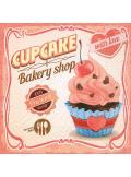 20 Serviettes Cup Cake