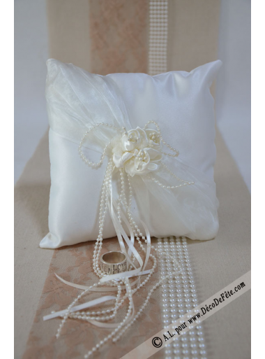 1 coussin COLETTE champagne