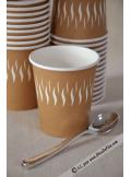 50 gobelets tasse à café carton