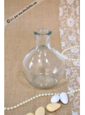 1 vase bouteille boule 10cm