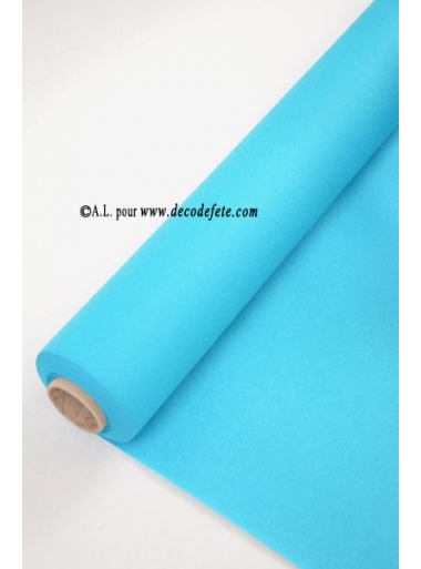 50m nappe jetable presto turquoise rouleau 25m. Black Bedroom Furniture Sets. Home Design Ideas