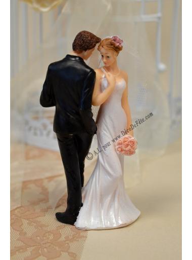 1 couple de mariés Roméo et Juliette