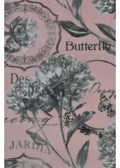 5M chemin de table Butterfly rose
