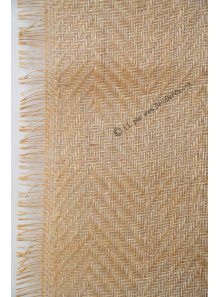 5M chemin de table jute CHARLES chevrons 30cm