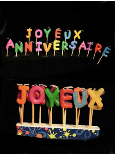 Bougie Joyeux Anniversaire 2x2 5 Cm Lot De 18 Bougies Joyeux Anniversaire Deco De Fete