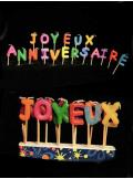 Bougie joyeux anniversaire