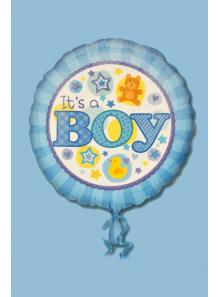 1 ballon hélium IT'S A BOY