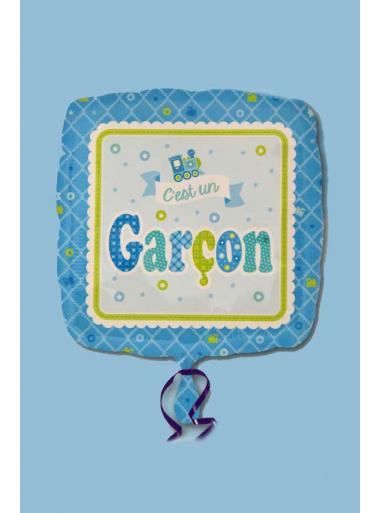 1 ballon hélium c'est un GARCON