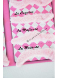 1 kit 12 MOUSTACHES rose pour photobooth