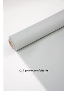 50M Nappe jetable presto gris aluminium