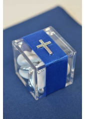 1 Boite cube 5cm JIM transparent