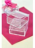 1 Boite rectangle 5cm JIM transparent