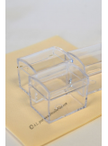 1 Boite coffre ROBINSON transparent