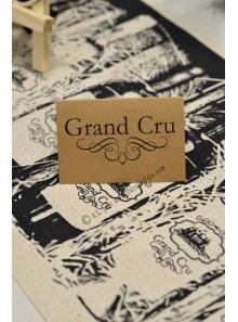 10 marque-place GRAND CRU