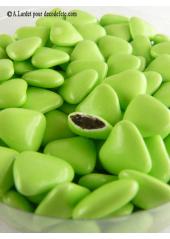 150g Petits coeurs vert tilleul