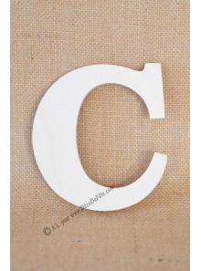 1 lettre bois C 12cm