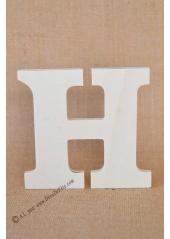 1 lettre bois H 12cm