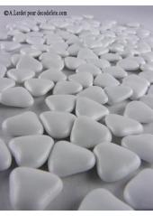 150g Petits coeurs blancs
