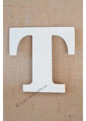 1 lettre bois T 12cm