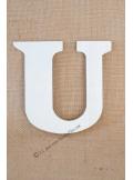 1 lettre bois U 12cm