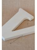 1 lettre bois V 12cm