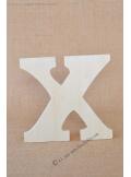 1 lettre bois X 12cm